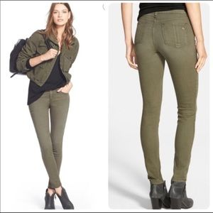 Army green Rag and Bone jeans
